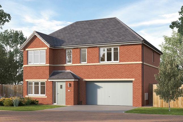 "Thumbnail Detached house for sale in ""The Cotham"" at Manston Lane, Crossgates"