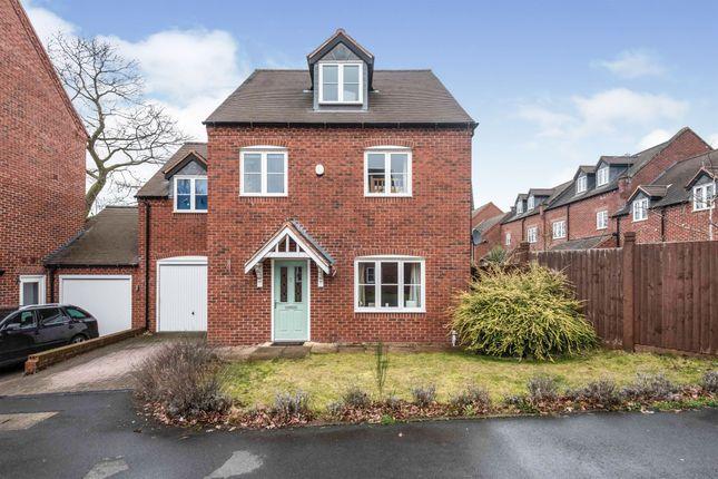 Thumbnail Detached house for sale in Edburgha Close, Yardley, Birmingham