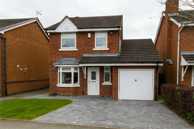 Thumbnail Detached house for sale in Yale Drive, Wednesfield, Wolverhampton, West Midlands