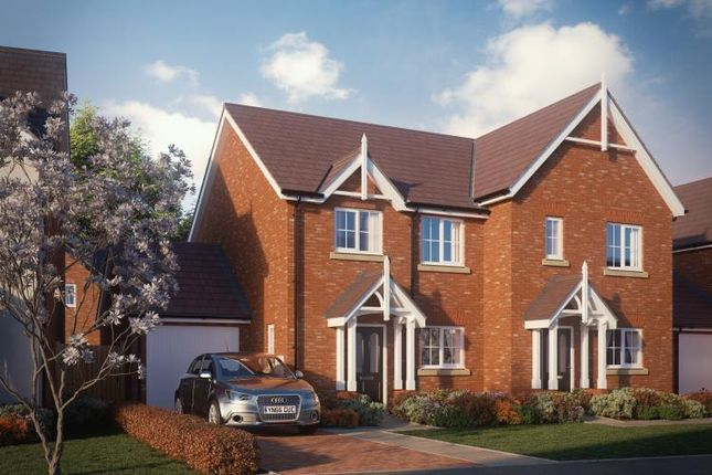 Thumbnail Semi-detached house for sale in Shrewsbury Road, Hadnall, Shrewsbury