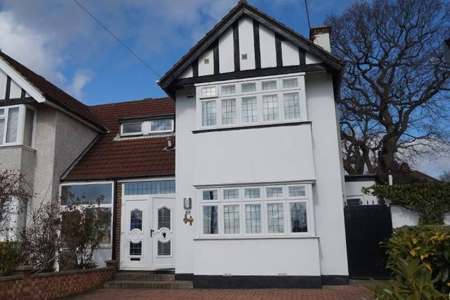Thumbnail Semi-detached house to rent in Greenway, Pinner