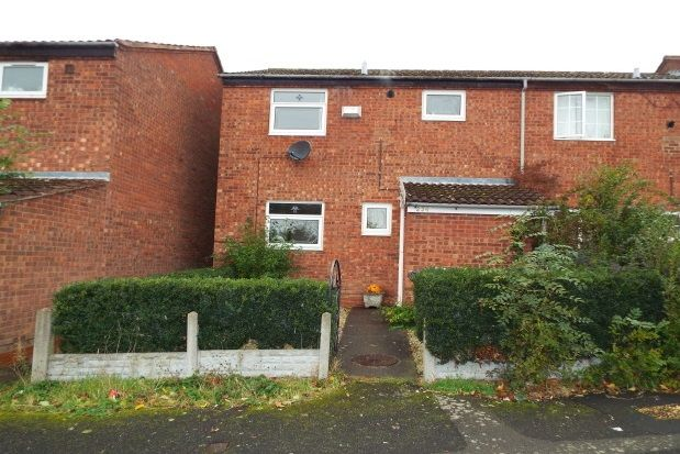 Thumbnail End terrace house to rent in Loxley Close, Redditch