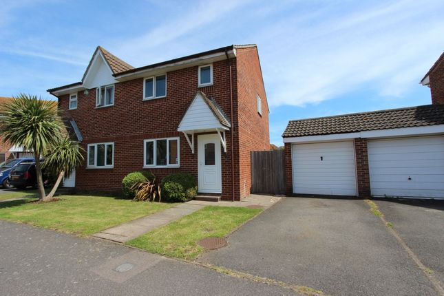 Thumbnail Semi-detached house to rent in West Lea, Deal