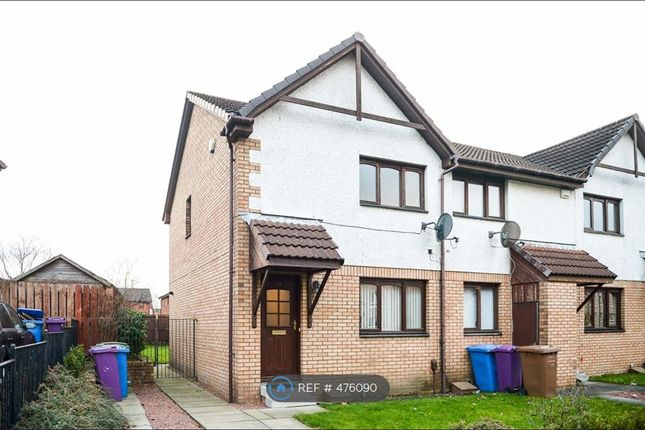 Thumbnail End terrace house to rent in Mellerstain Drive, Glasgow