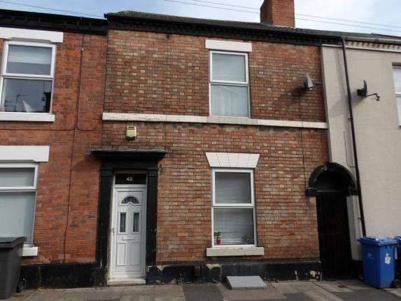 Front of Crompton Street, Derby, Derbyshire DE1