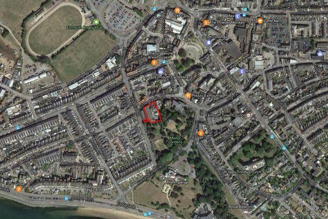 Street Map of Redevelopment Site, Exmouth, Devon EX8
