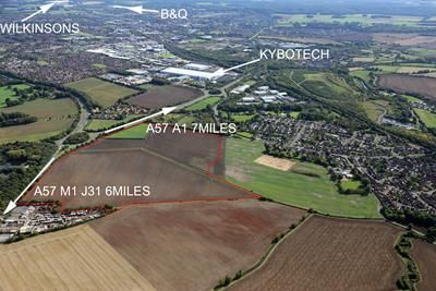 Thumbnail Land for sale in Strategic Employment Land Site, Shireoaks Common/Gateford, Worksop, Nottinghamshire
