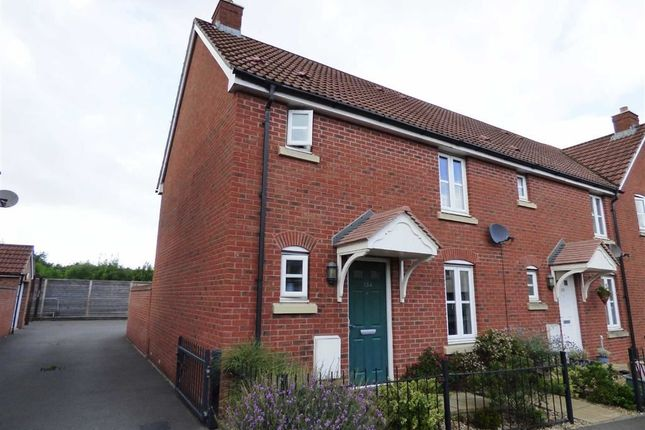 Thumbnail Semi-detached house to rent in Worle Moor Road, Weston-Super-Mare