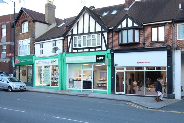 Thumbnail Retail premises for sale in High Street, High Barnet