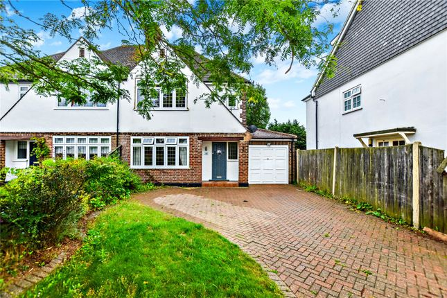 Thumbnail Semi-detached house for sale in Wansunt Road, Bexley, Kent
