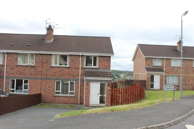 Thumbnail Semi-detached house for sale in Craigaveen Close, Newry