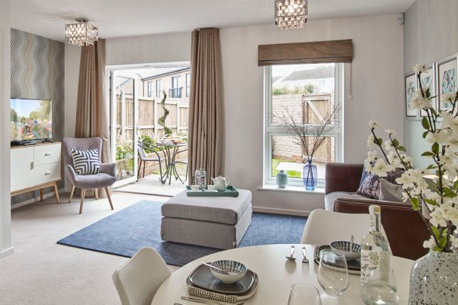 Thumbnail End terrace house for sale in The Lawrence, Plot 13, Off Commonside Road, Harlow