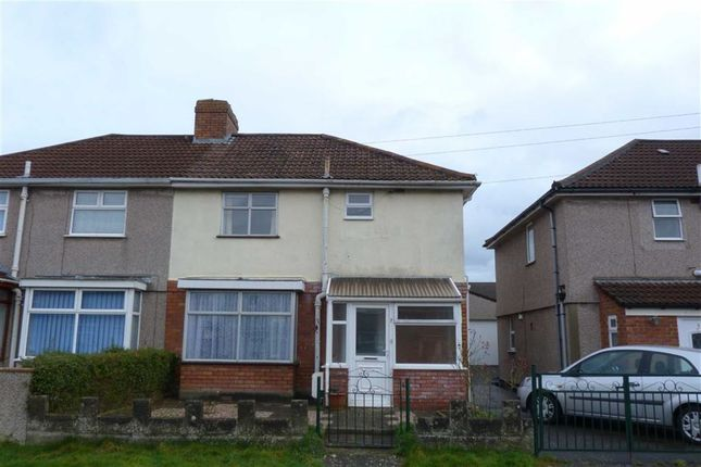 3 bed semi-detached house to rent in Queensdale Crescent, Knowle, Bristol