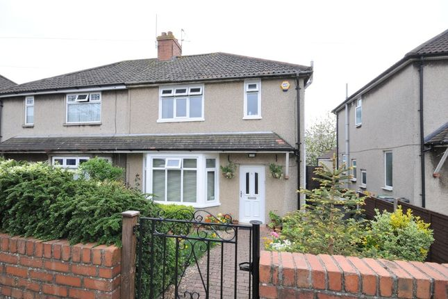 Thumbnail Semi-detached house for sale in Hollyguest Road, Hanham, Bristol