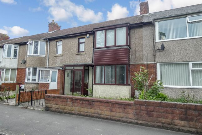 Thumbnail Terraced house to rent in Alexandra Road, Ashington