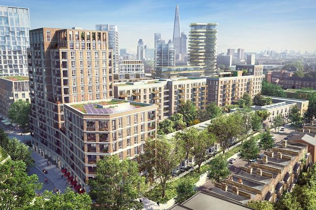 Thumbnail Property to rent in South Garden Mansions, Elephant Park, Elephant And Castle, London .