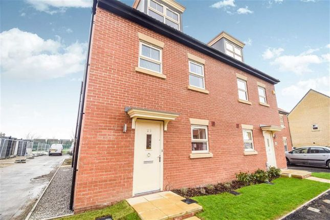 Thumbnail Semi-detached house for sale in Frances Brady Way, Hull, East Yorkshire