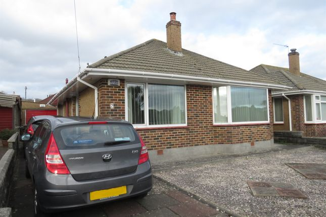 Thumbnail Detached bungalow for sale in Fletcher Crescent, Plymstock, Plymouth