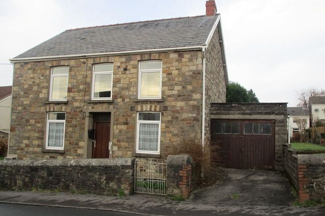 Thumbnail Detached house for sale in Brecon Road, Ystradgynlais, Swansea.