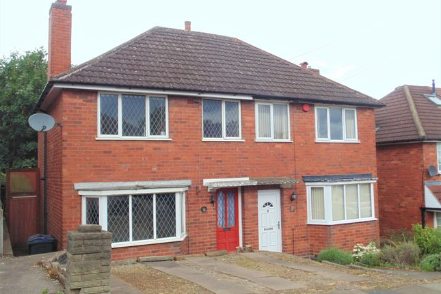 Thumbnail Semi-detached house for sale in Holmesfield Road, Birmingham