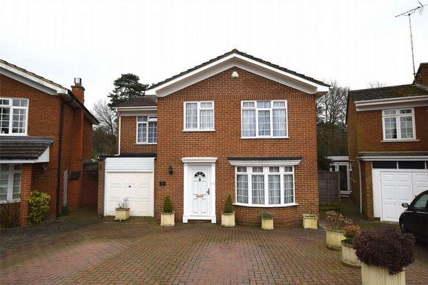 Thumbnail Detached house for sale in Old Portsmouth Road, Camberley, Surrey