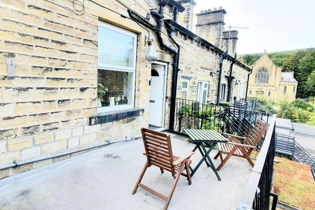 Thumbnail Maisonette to rent in Peel Street, Marsden, Huddersfield