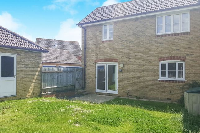 Thumbnail End terrace house for sale in Faustina Drive, Kingsnorth, Ashford