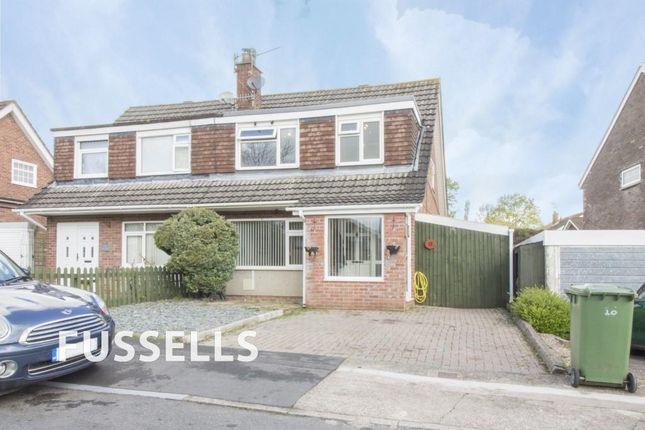 Thumbnail Semi-detached house for sale in Monmouth Court, Caerphilly
