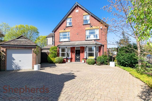 Thumbnail End terrace house for sale in Flamstead End Road, Cheshunt, Hertfordshire