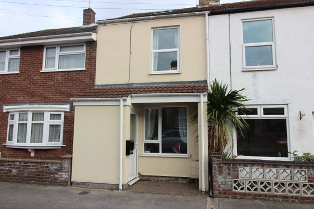 Thumbnail Terraced house to rent in Witney Road, Pakefield, Lowestoft