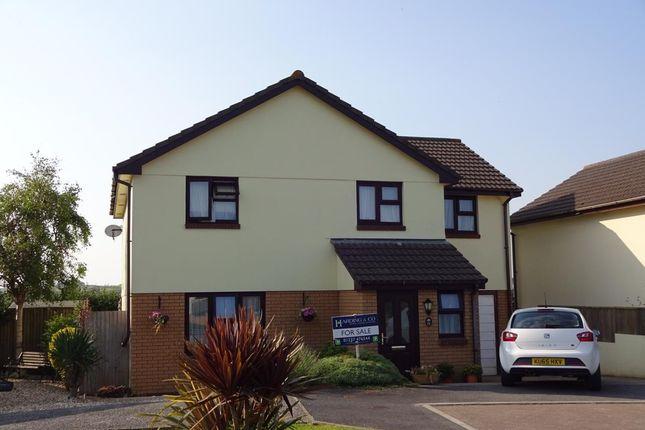Thumbnail Detached house for sale in Rosemoor Road, Torrington