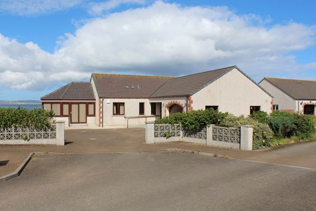 Thumbnail Detached bungalow for sale in Sabiston Crescent, Weyland Bay, Kirkwall, Orkney