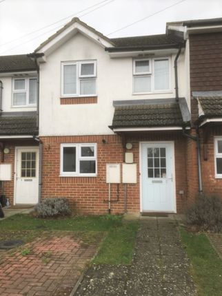 Thumbnail 2 bed terraced house for sale in Hamlins Park Close, Hailsham, Sussex