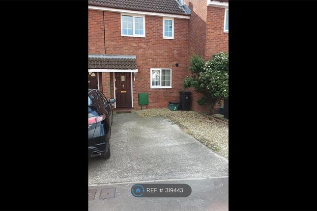 Thumbnail Terraced house to rent in Sheridan Close, Bridgwater