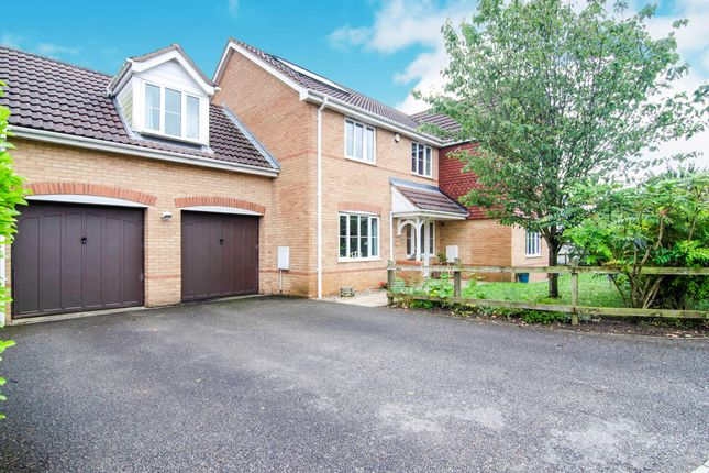 Thumbnail Detached house for sale in Buttercup Lane, West Lynn, Kings Lynn, Norfolk