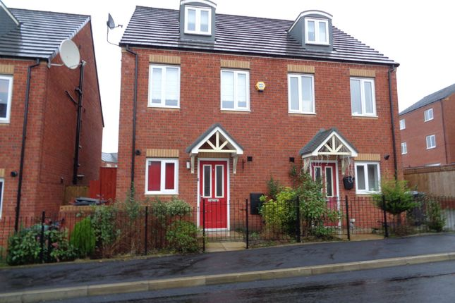 Thumbnail Town house for sale in Bottomley Side, Blackley