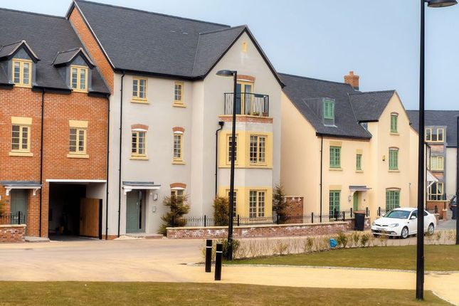 Thumbnail Flat for sale in 21 St Johns Walk, Lawley Village, Telford