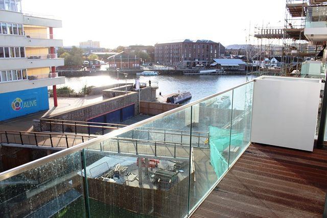 Balcony of Millennium Promenade, Bristol BS1
