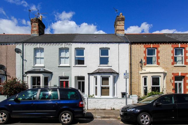 Thumbnail Terraced house to rent in Fairleigh Road, Cardiff