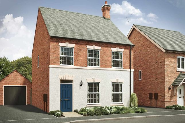 """Thumbnail Detached house for sale in """"The Stanbrook I"""" at Davidsons At Wellington Place, Leicester Road, Market Harborough"""