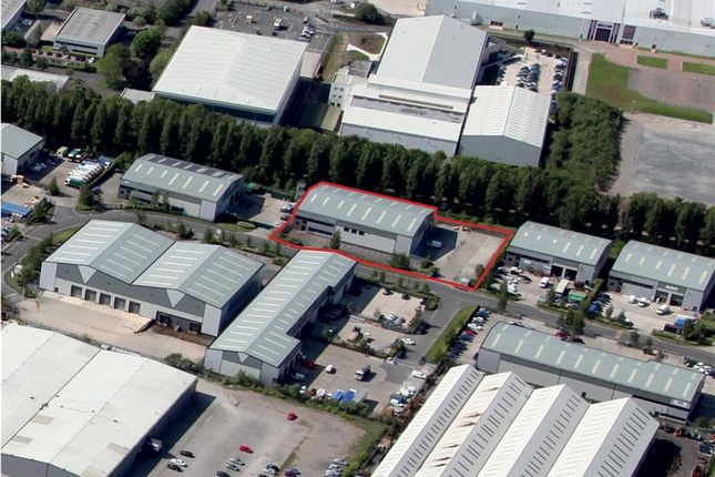 Thumbnail Warehouse to let in Unit 38, Ashburton Point, Wheel Forge Way, Trafford Park, Manchester, Greater Manchester