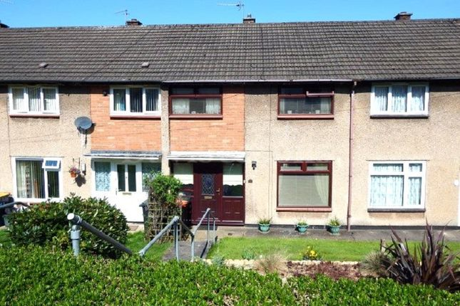 Thumbnail Terraced house for sale in Lea Close, Bettws, Newport.