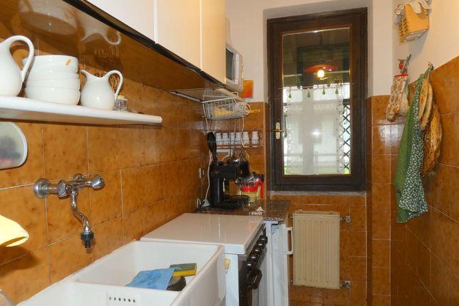 Kitchen of Via Case Sparse, Domaso, Como, Lombardy, Italy
