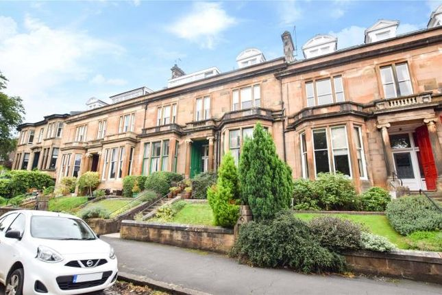 Thumbnail Flat to rent in Hughenden Terrace, Glasgow