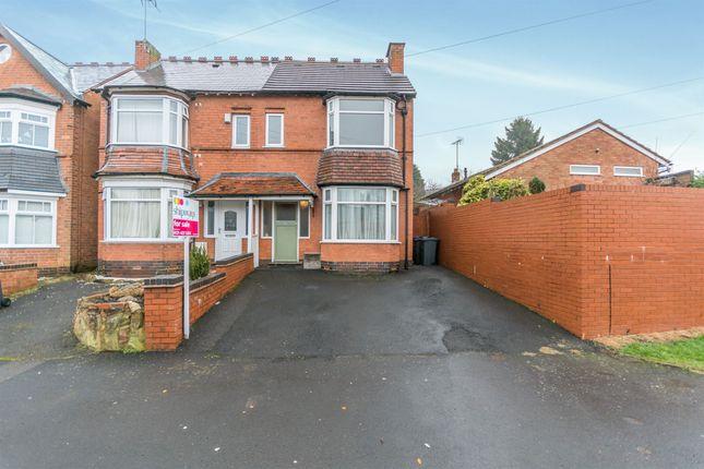 Thumbnail Semi-detached house for sale in Tennal Road, Quinton, Birmingham