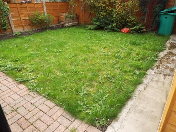Garden of Platt Lane, Manchester, Greater Manchester, Uk M14