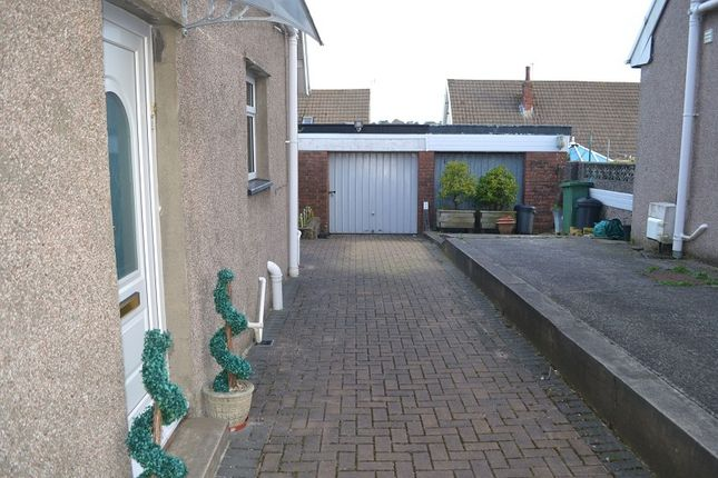 Rear Garden of Venables Close, Fforestfach, Swansea SA5