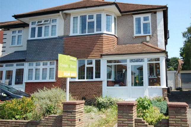 Thumbnail Semi-detached house for sale in Bramley Way, West Wickham, Kent