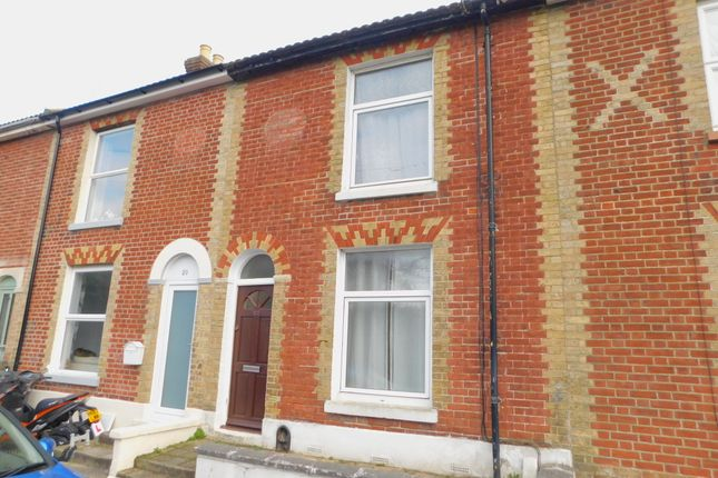 Thumbnail Terraced house to rent in Cleveland Road, Gosport