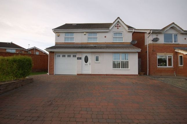 Thumbnail Detached house for sale in Lansdowne Road, Forest Hall, Newcastle Upon Tyne